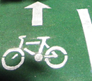 Bicycle lane - see page text for details