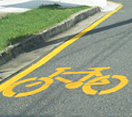 Bicycle Awareness Zone - see page text for details
