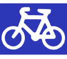 Bicycle route - see page text for details