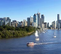 Brisbane River and CBD