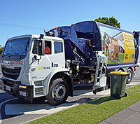 Rubbish trucks   Brisbane City Council