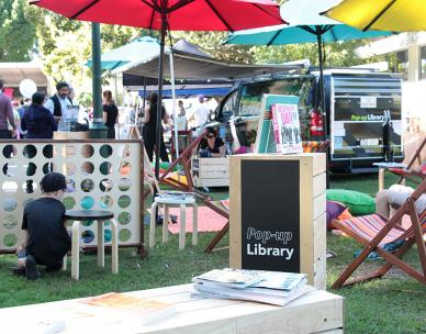 Children's storytime in the park - 7th Brigade Park, Chermside
