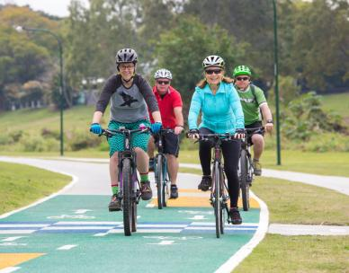 Kedron Brook Bikeway: guided ride