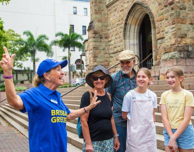 Brisbane Greeters - Fortitude Valley walking tour