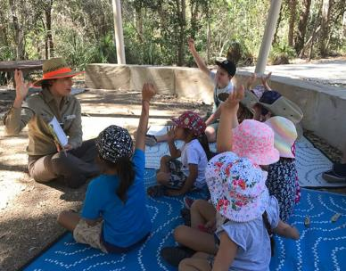 Bush Kindy and Library stories and rhymes