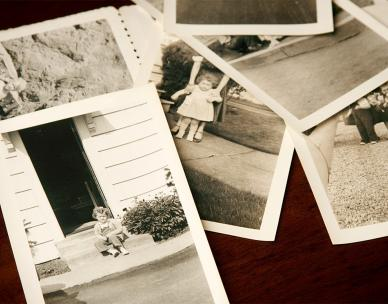 Dating old photos and caring for them