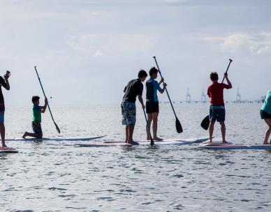 Stand up paddling - Rescheduled for 9 Feb