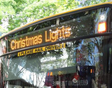 Christmas Lights bus tours - western suburbs