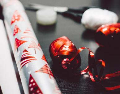School Holiday Activity: Christmas Wrapping Paper Workshop