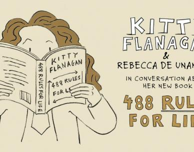 Kitty Flanagan & Rebecca De Unamuno - in conversation about 488 Rules for Life