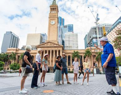 Brisbane Greeters - Greeters Choice walking tour
