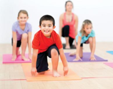 Yoga for young people