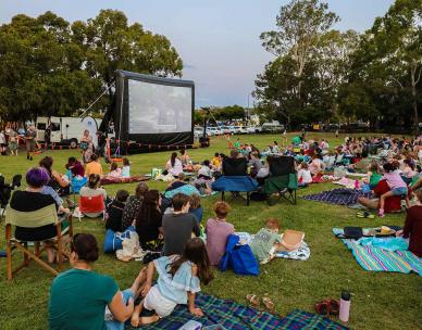 Toy Story 4 - Outdoor Cinema in the Suburbs