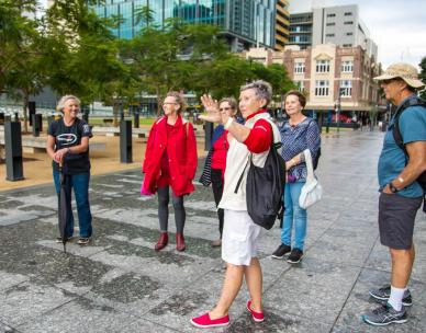 Brisbane Greeters Walk - Commercial Brisbane
