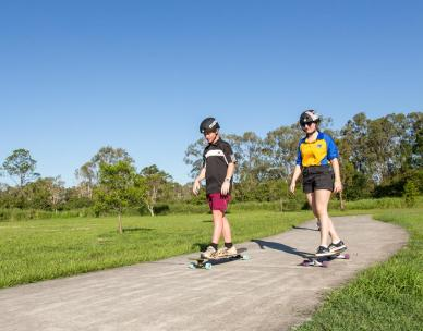 Learn how to longboard basics and dance