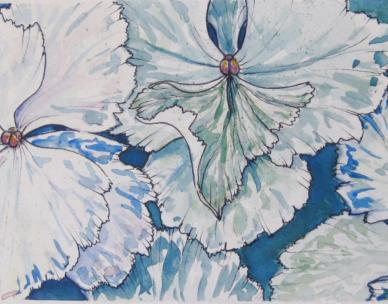 Flowers in ink: reconnect to nature through drawing in the gardens with Michelle Pujol