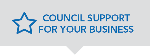 Council support for your business
