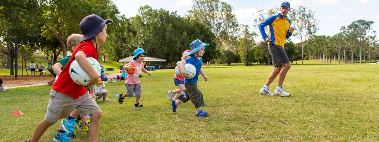 Parents and bubs fun soccer (18mth-2 years)
