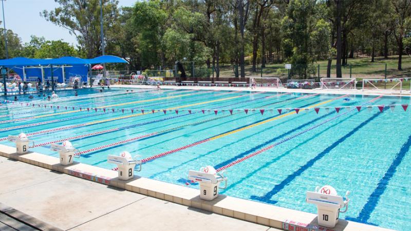 Yeronga Park Memorial Swimming Pool Brisbane City Council