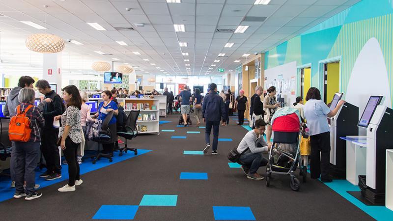 Garden City Library Brisbane City Council